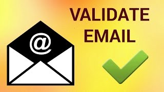 """Sometimes you may wonder if an email address is valid or not, or if it even exists. There is a simple way to find out. You can go to the login page of the email service and indicate that you don't remember the password of that email account. The service will ask for the email address where they can send the password recovery instructions. Here if you enter an email address that does not exist, the service will tell you that the particular user name does not exist. Don't forget to check out our site http://howtech.tv/ for more free how-to videos!http://youtube.com/ithowtovids - our feedhttp://www.facebook.com/howtechtv - join us on facebookhttps://plus.google.com/103440382717658277879 - our group in Google+Step # 1 - To verify Gmail and Google Apps AccountsFor Gmail accounts, go to Google's password assistance page at """"google.com/accounts/recovery"""" and choose the """"I don't know my password"""" option. Enter the email address that you are trying to verify and click on """"Continue"""". If that address is not valid, Google will send you an error message saying """"No account found with that email address"""".You can also go to the Gmail Sign-up page and try creating a new Gmail account with the address that you are trying to verify. For a valid email address, the error message will read:  """"Someone already has that username"""".Step # 2 - To verify Outlook, Hotmail and Live.com AddressesFor Outlook, Hotmail and Live.com adresses go to the account reset password page:  """"account.live.com/ResetPassword""""; choose the """"I forgot my password"""" option and enter the Outlook email address. You will get an error saying """"The Microsoft account is incorrect"""", for addresses that do not exist.Step # 3 - To verify Yahoo Email AddressesFor Yahoo addresses go to Yahoo's account recovery page: """"edit.yahoo.com/forgot"""".  Enter the email address that you want to validate and click the """"Next"""" button. Yahoo will say """"We couldn't match the Yahoo ID you entered with information in our database"""" , if the email address"""