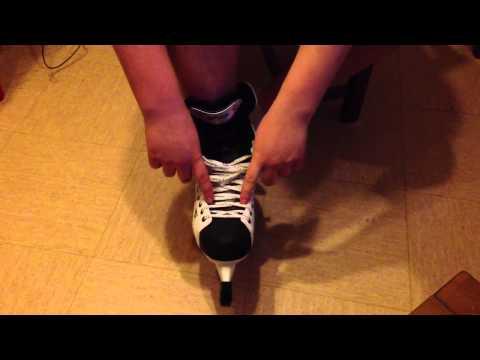 comment lacer ses patins de hockey - Conseil patins à glace