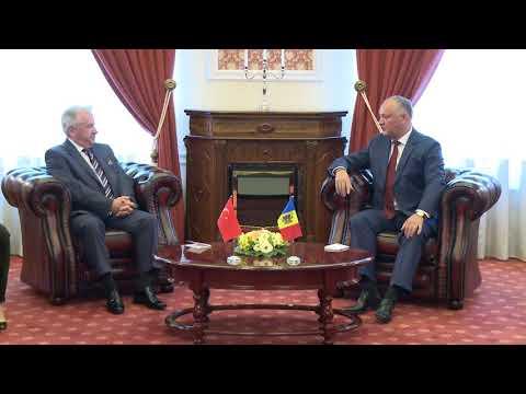 Președintele Republicii Moldova a primit scrisorile de acreditare ale Ambasadorului agreat al Republicii Turcia în țara noastră
