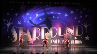 """""""London Girls"""" - Junior Hip Hop Small Group Starbound Nationals 2016 - Lake Tahoe Dance Connection Performing Arts Centre..."""