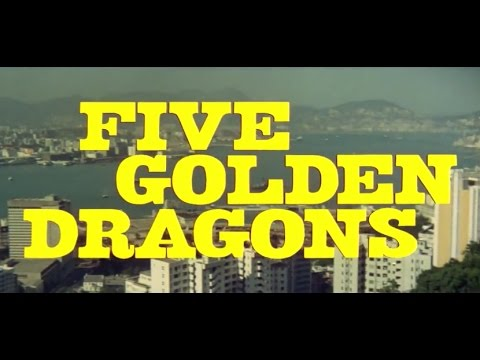 FIVE GOLDEN DRAGONS (1967) Trailer S.T.Fr. (optional)