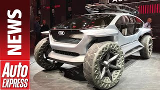 Audi AI:TRAIL concept - madcap all-electric off-roader wows at Frankfurt by Auto Express