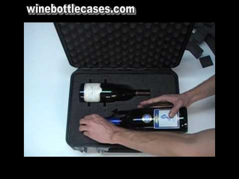 Wine Bottle Case for Shipping (Custom Foam Inserts)