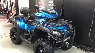 6. 2018 CFMOTO CFORCE 800 EPS LX 4X4, VTT, ATV, MG PERFORMANCE