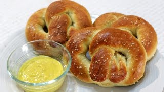 How to make Homemade Soft Pretzels -  Easy Pretzels Recipe