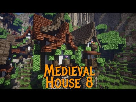 Minecraft Tutorials – Medieval House 8