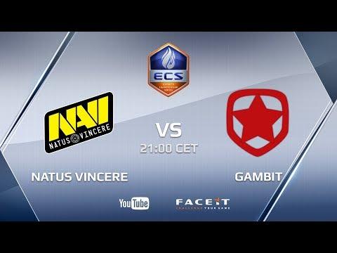 Natus Vincere vs Gambit Gaming, ECS Season 5 Europe Challenger Cup