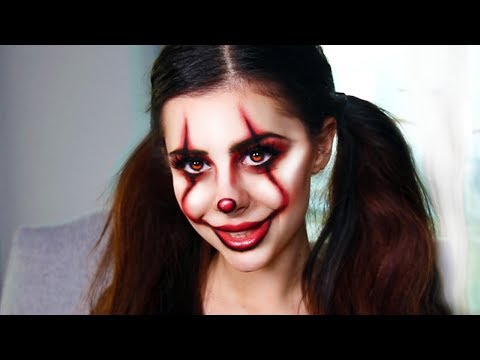 More Last-Minute DIY Halloween Costume Makeup Ideas (IT PENNYWISE CLOWN TUTORIAL)