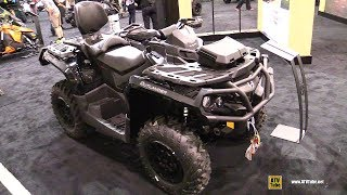 7. 2018 Can Am Outlander Max XT P 850 ATV - Walkaround - 2017 Toronto ATV Show
