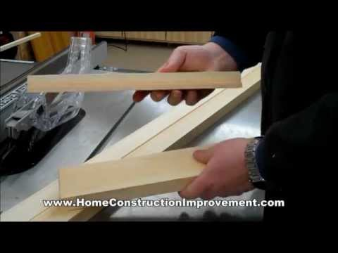 Rockler Shutter System: Cutting