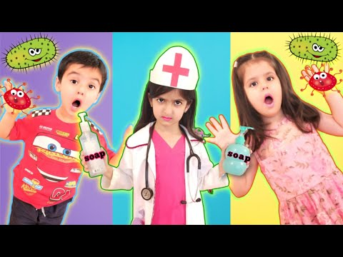 Wash your hands stories compilation by germ smart cookie kids | Wash your hands story