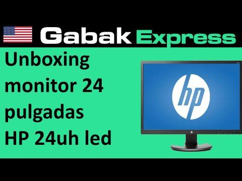 Unboxing monitor 24 pulgadas HP 24uh LED en español