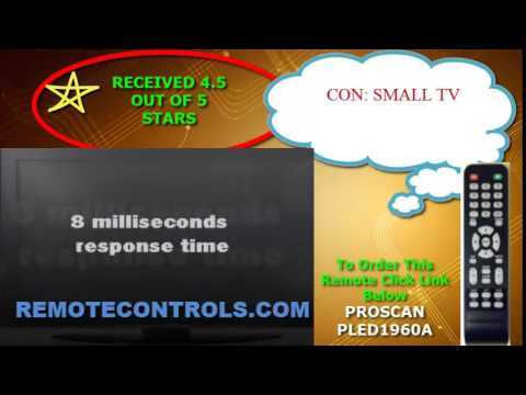 Review Proscan - 720p LED HDTV -PLED1960A