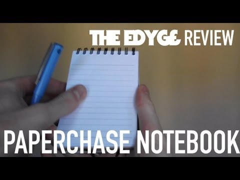 notebook review - Sonny Ericksen Reviews the new device from Paperchase. @marcusbeard.
