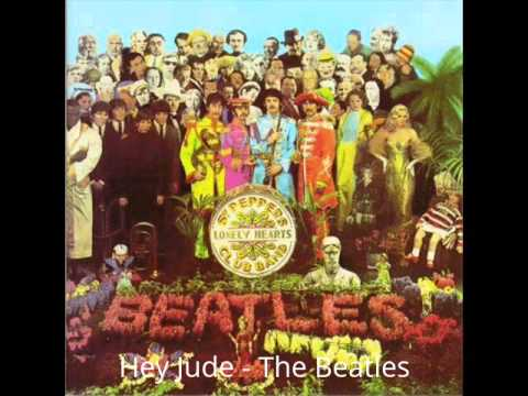 Hey Jude - The Beatles (with Lyric)