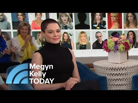 Rose McGowan: 'I Don't Want To' Forgive Harvey Weinstein   Megyn Kelly TODAY