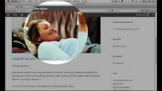 Wordpress Tutorial Español | Página De Inicio Entradas