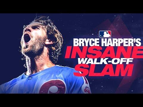 Video: Harper's insane walk-off HR against the Cubs!