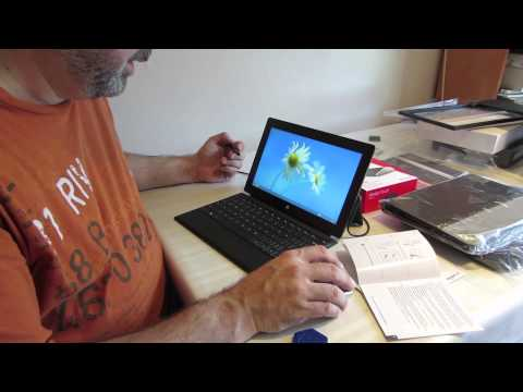Microsoft Surface Pro 128 unboxing