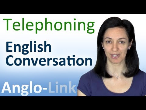 Conversation - In this English conversation lesson you will learn how to make phone calls in both informal and formal styles of speaking. Comment on this English lesson to ...
