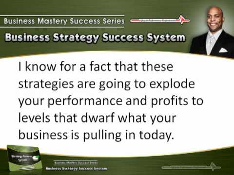 Victor Holman – Business Strategy Success System