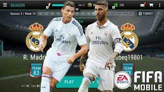FIFA MOBILE REAL MADRID VS REAL MADRID KTÓRY LEPSZY?