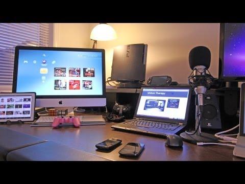 Best Gaming Setup / Desk Setup (Room Tour) 2012