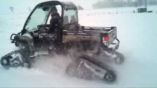 8. 825i Gator with Tracks & Big Snow Excursion