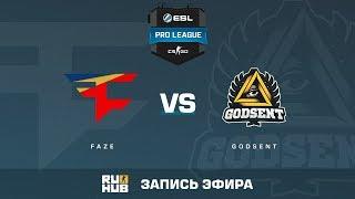 FaZe vs GODSENT - ESL Pro League S6 EU - de_cobblestone [ceh9, MintGod]