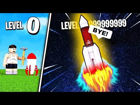 LAUNCHING LEVEL 9999 ROCKET SHIP into Space! // Roblox