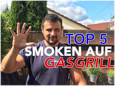 TOP 5 TIPS ZUM SMOKEN MIT DEM GASGRILL (5 Arten mit Gasgrills zu smoken) --- Klaus grillt