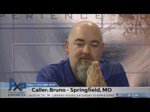 Teaching Evolution as Xian Made Me an Atheist | Bruno - Springfield, MO | Atheist Experience 21.04
