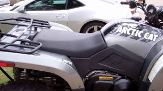 5. 2012 Arctic Cat 425 Silver