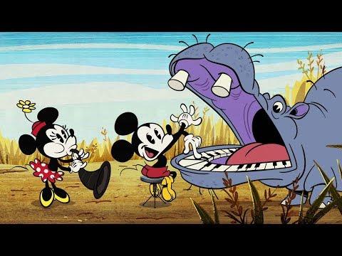 Doudou Souris Mickey Mouse DISNEY Plat Carré Rouge Vichy Bleu Blanc NEUF
