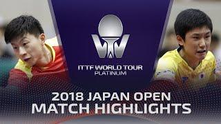 Video Ma Long vs Tomokazu Harimoto | 2018 Japan Open Highlights (1/4) MP3, 3GP, MP4, WEBM, AVI, FLV Januari 2019