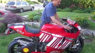 5. 2008 Ducati D16RR Desmosedici Start Up
