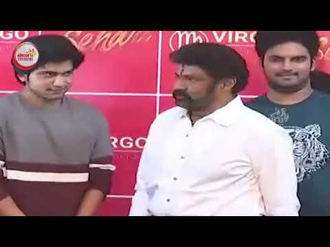 కోపంతో  ఫోన్ ని విసిరేసిన   బాలయ్య | Balakrishna  Fires On His PA  at Sehari First Look Launch | TT
