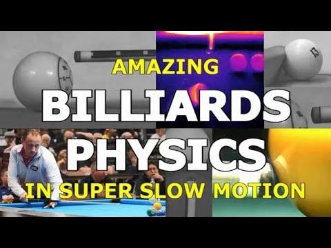 Amazing BILLIARDS PHYSICS in Super Slow Motion