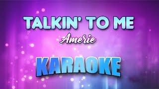 Amerie - Talkin' To Me (Karaoke version with Lyrics)