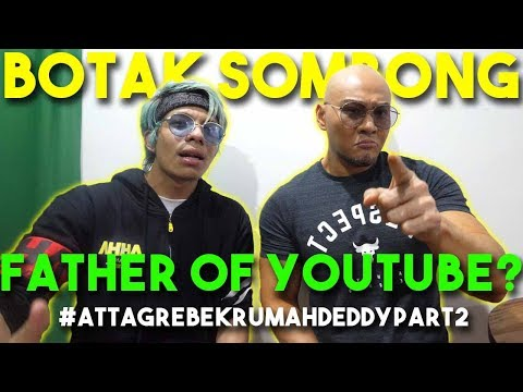 Tempat Rahasia DEDDY Corbuzier! Father of Youtube? #AttaGrebekRumah Deddy Part 2