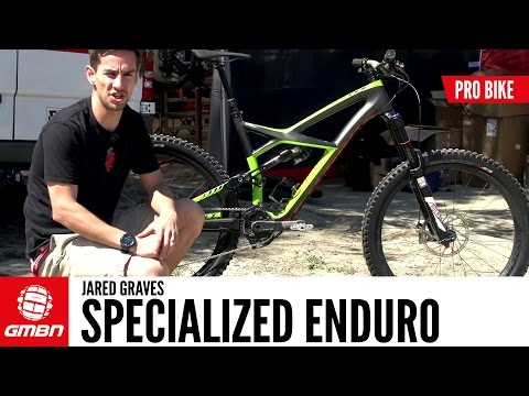 Jared Graves' Specialized Enduro
