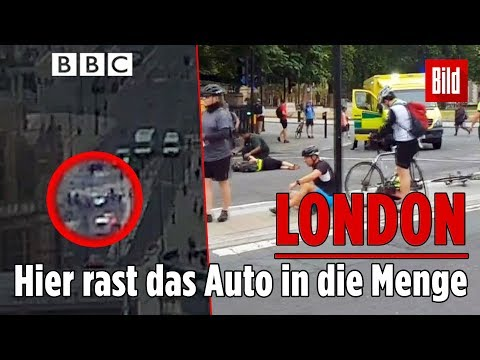 London: Auto-Anschlag in Westminster in der Nähe des Parlaments