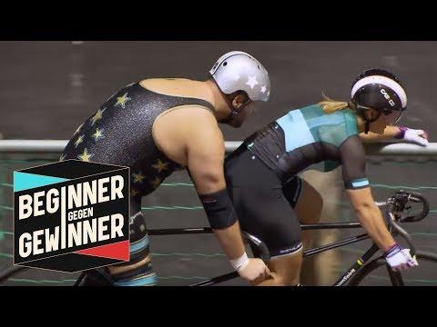 Radrennen: Kristina Vogel mit 130 Kilo Wrestler gegen Joko | Beginner gegen Gewinner | ProSieben