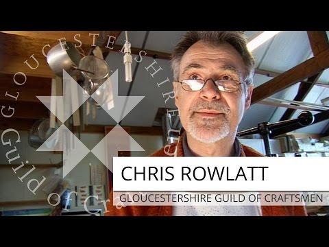 Chris Rowlatt | Bookbinder & Paper Marbler | The Gloucestershire Guild Of Craftsmen