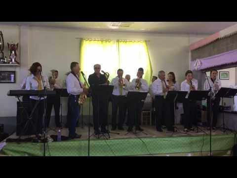 Banda Santa Cecília participou da festa do Travessão Cerro Largo