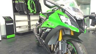 7. #Bikes@Dinos: Kawasaki Ninja ZX10R Walkaround Review, Exhaust Note