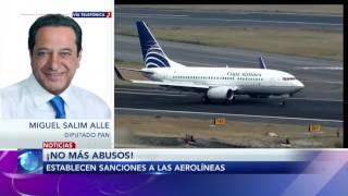 Entrevista a Miguel Salim sobre aprobación de sanciones a aerolíneas