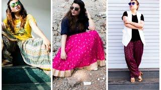 Indo - Western Look