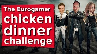 Chris, Aoife and Ian's chicken dinner challenge - PlayerUnknown's Battlegrounds gameplay