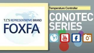 CONOTEC Digital Temperature Controller FOX-1004 youtube